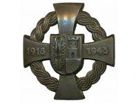 NDH_-_spone_znak_osloboena_Meimurja_1918-1943